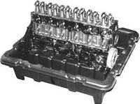 4.1 liter - 160 HK - long block. MerCruiser, OMC & Volvo Penta